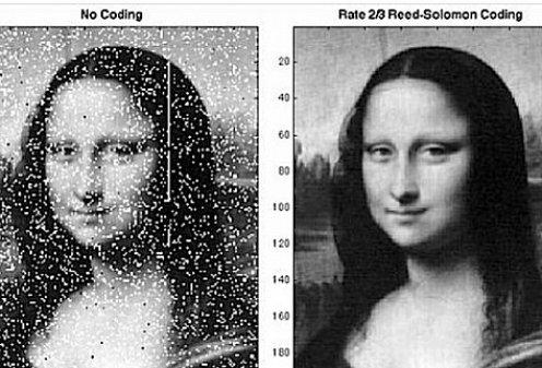 NASA с помощью лазера передала изображение Моны Лизы на Луну