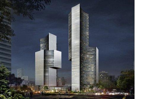 В Сингапуре построят вогнутые небоскребы