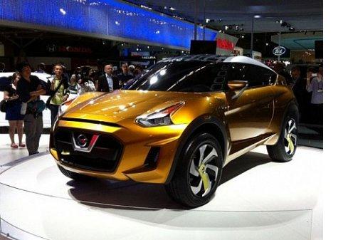 Nissan показал Extrem'альный концепт