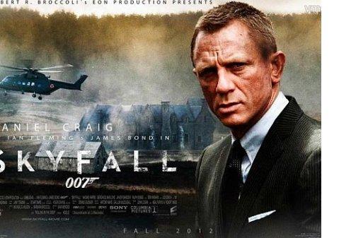 Фильм Skyfall стал лидером британского проката за всю историю