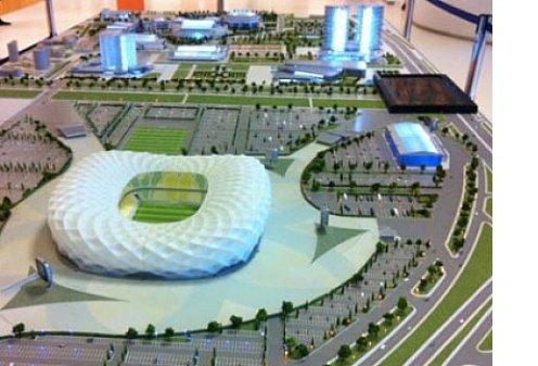В Краснодаре будет построен стадион на 40-50 тысяч мест