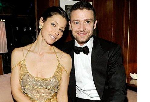 Джастин Тимберлейк женился на актрисе Джессике Бил